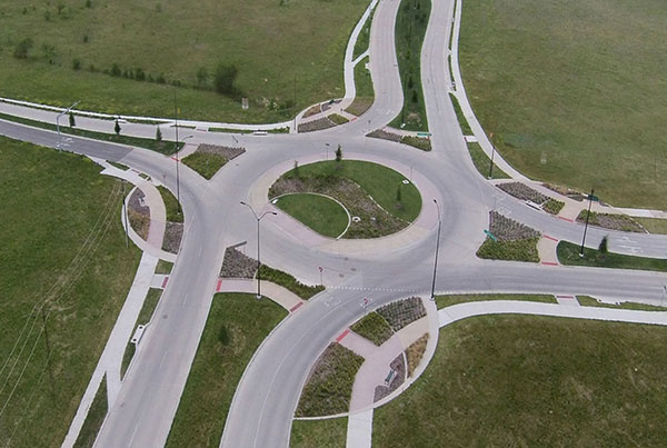 City of Fort Worth Summer Creek Roundabout