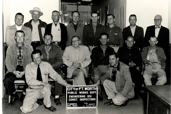 City of Fort Worth Public Works Department 1954_crop